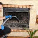 Nettoyer une cheminée