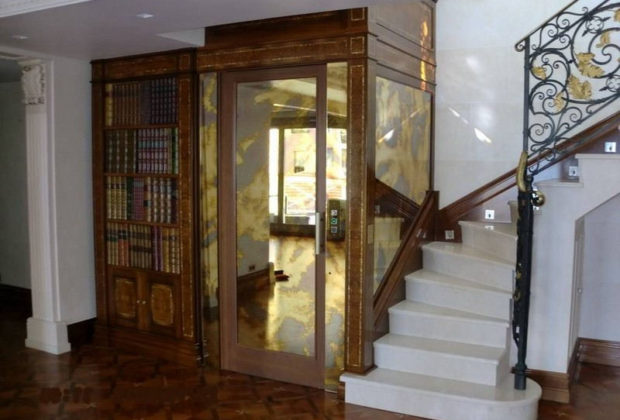 Ascenseur pour des appartements
