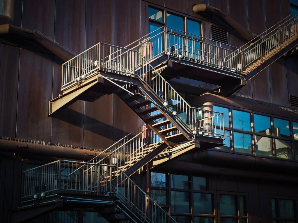 Barre d'appuie escalier
