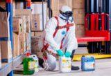 Produits chimiques en poudre