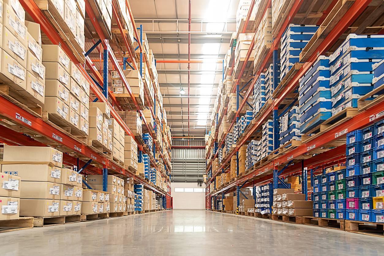rack stockage entrepôt