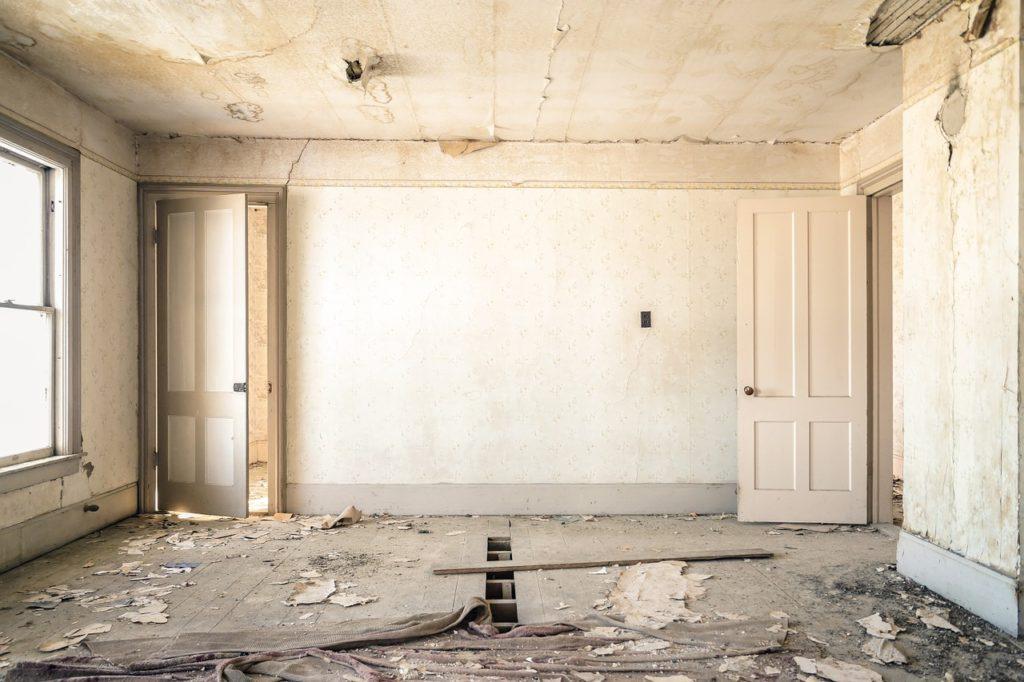 appartement à rénover par ou commencer