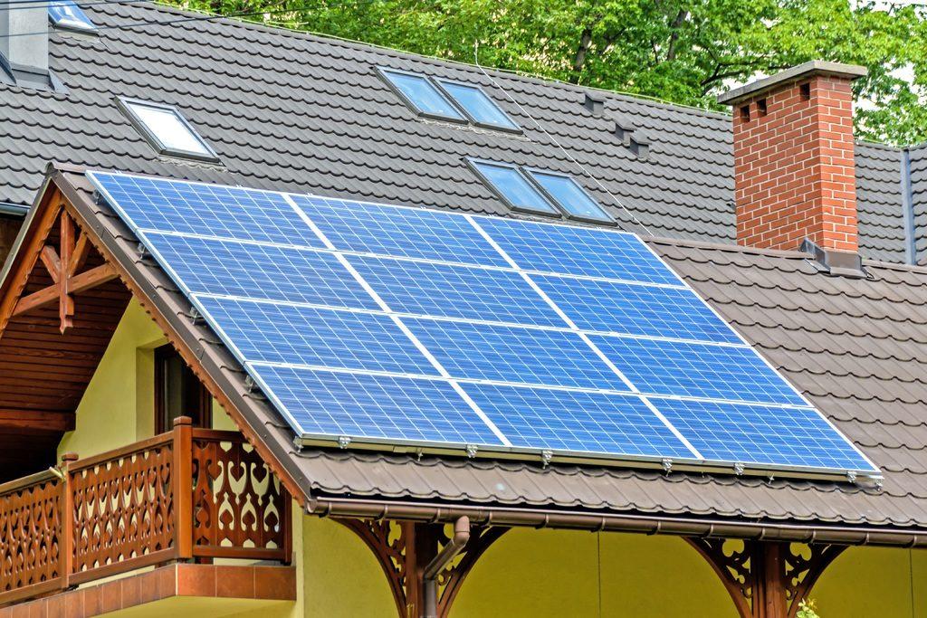 chauffage par panneaux solaire
