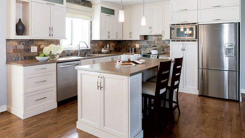 Choix des armoires de cuisine