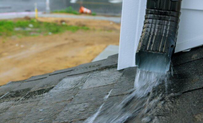 évacuation des eaux pluviales