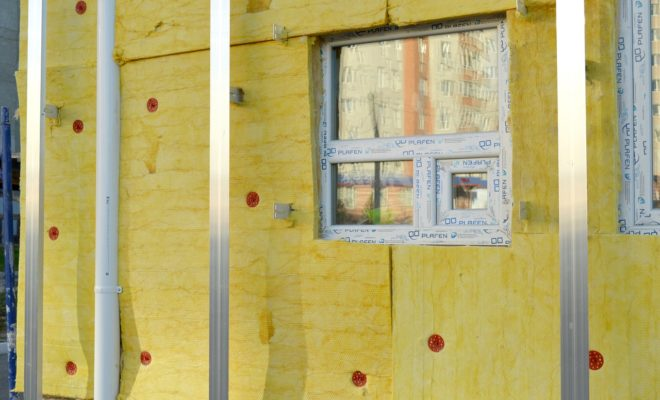 isoler une façade par l'extérieur