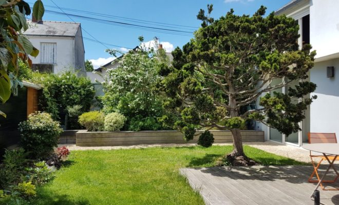jardin paysager à Nantes
