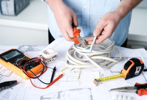 mesurer courant éléctrique