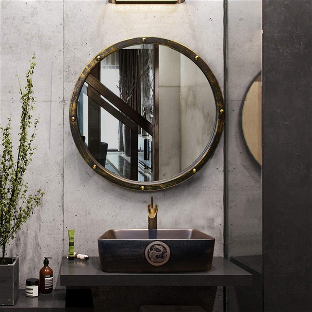 miroir industriel métal