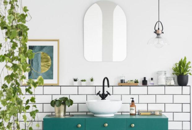 Moisissure dans la salle de bains