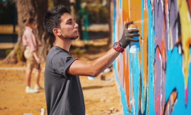 nettoyer des graffitis