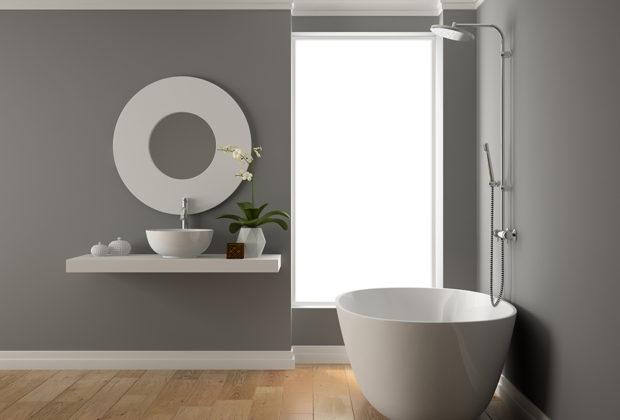peindre une salle de bain