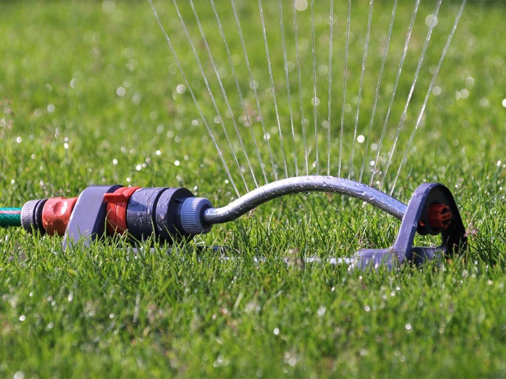pompe puit du jardin