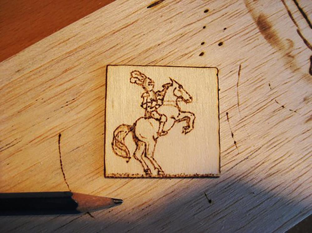 pyrograveur sur bois