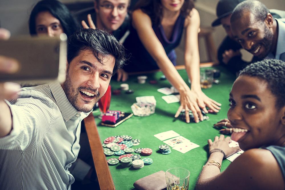 salle de poker à la maison