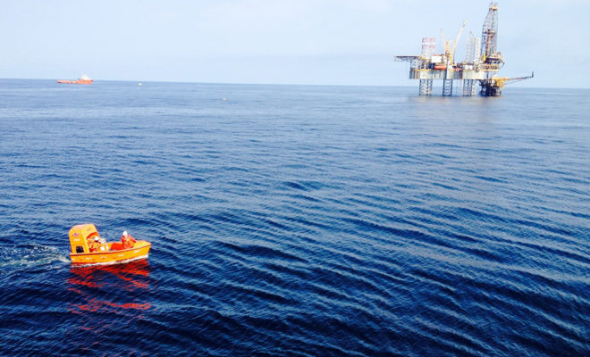 travaux en mer